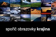 Screensaver krajina - spořič obrazovky s motivem krajina